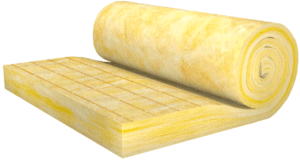 Roof - Attic - Insulation - Glass wool